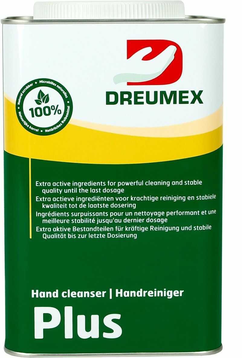 Żel do mycia rąk Dreumex Plus do ciężkich zabrudzeń puszka 4.5 l