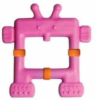 Gryzak masujący robot różowy InnoBaby