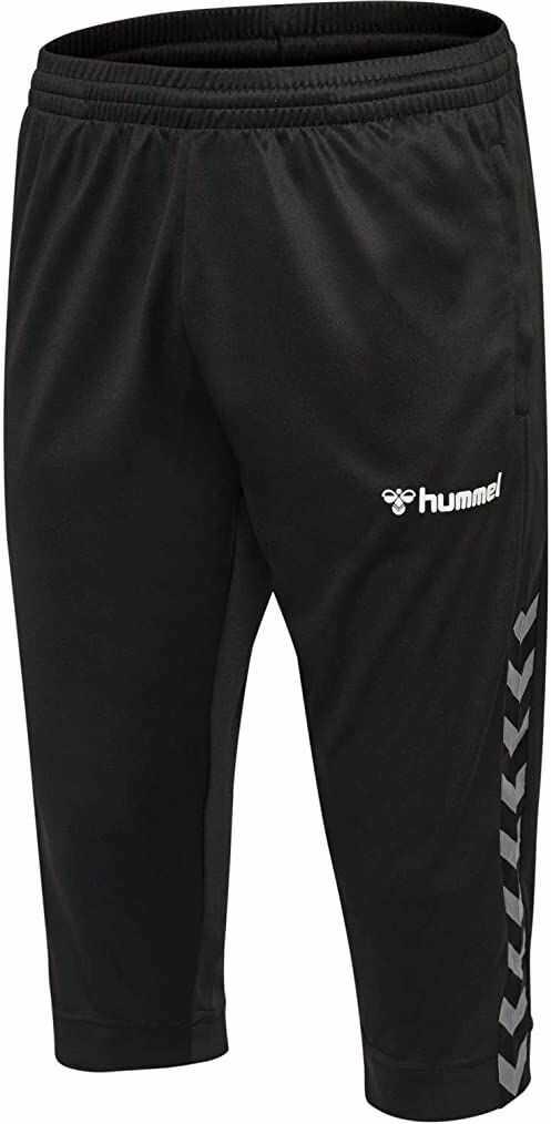 Hummel HmlAuthentic spodnie męskie 3/4 czarny czarny/biały M