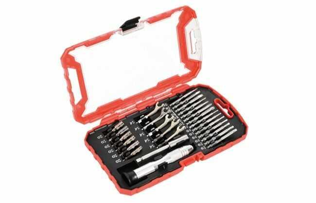 Zestaw bitów i kluczy nasadowych, 27 elementów MHA05004