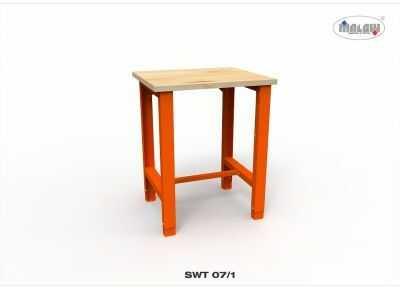 """Stół warsztatowy SWT 07/01 """"JEDYNKA"""" blat roboczy nośność 300 kg"""