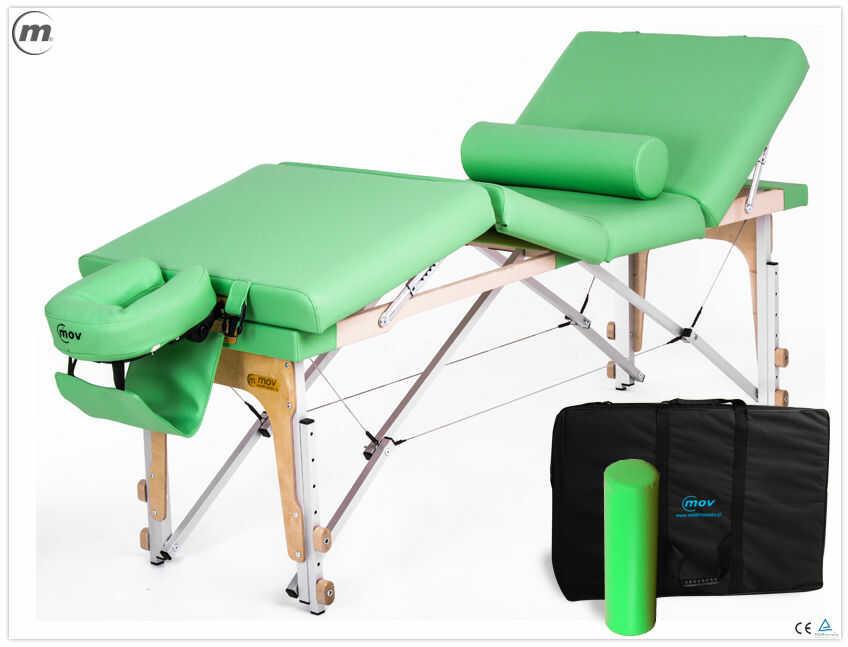 Składany stół do masażu MANUAL ALU