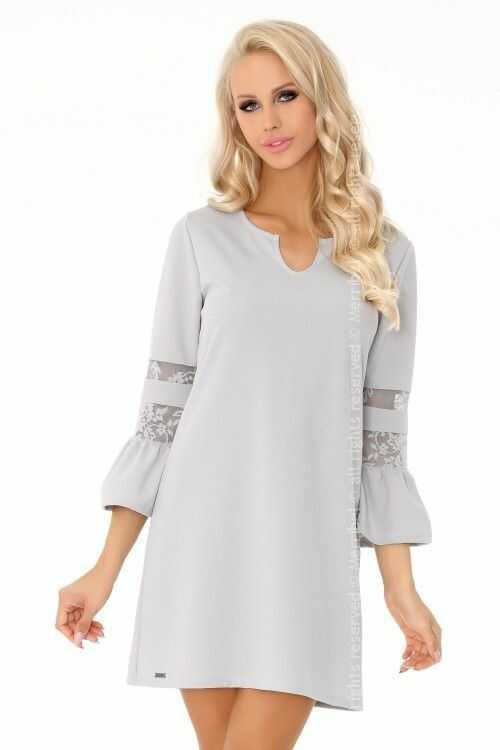 Megarnina Grey 90487 sukienka