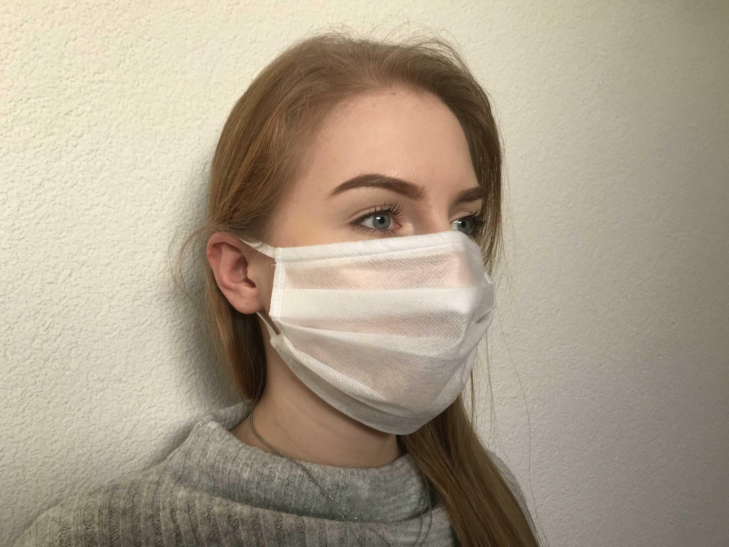 Maska włóknikowa (opak. 50 szt)