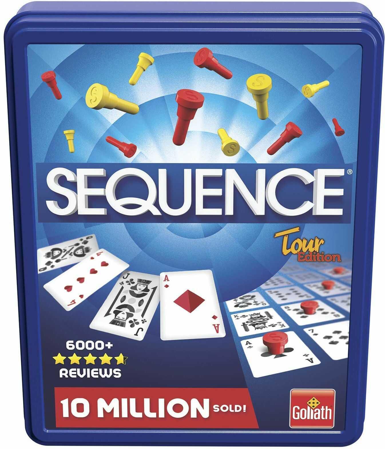 Sequence Tour: Spieldauer +/- 20 Minuten, Für 2-4 Spieler