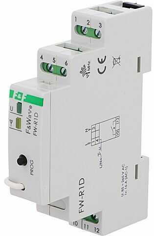 Przekaźnik instalacyjny F&F bistabilny NO Montaż DIN -25 65 C