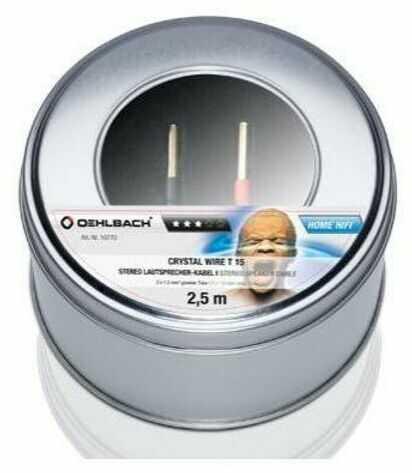 Oehlbach Crystal Wire T25/500 2x2,5mm, 5m - szybka wysyłka!