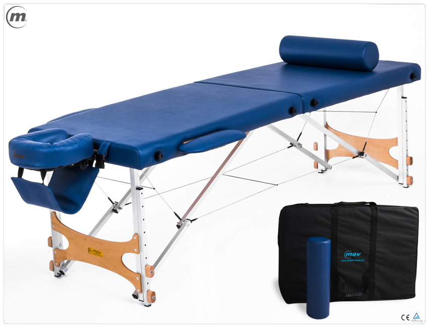 Składany stół do masażu PROMASTER ALU
