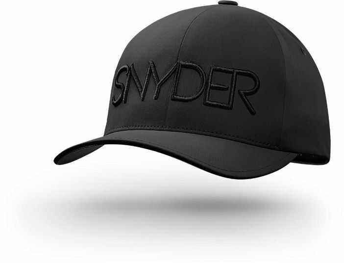 Czapka golfowa SNYDER Delta Black S/M