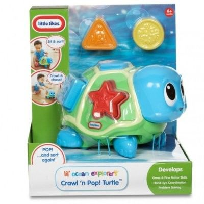 Little Tikes - Mały Ocean Żółwik edukacyjny 638497