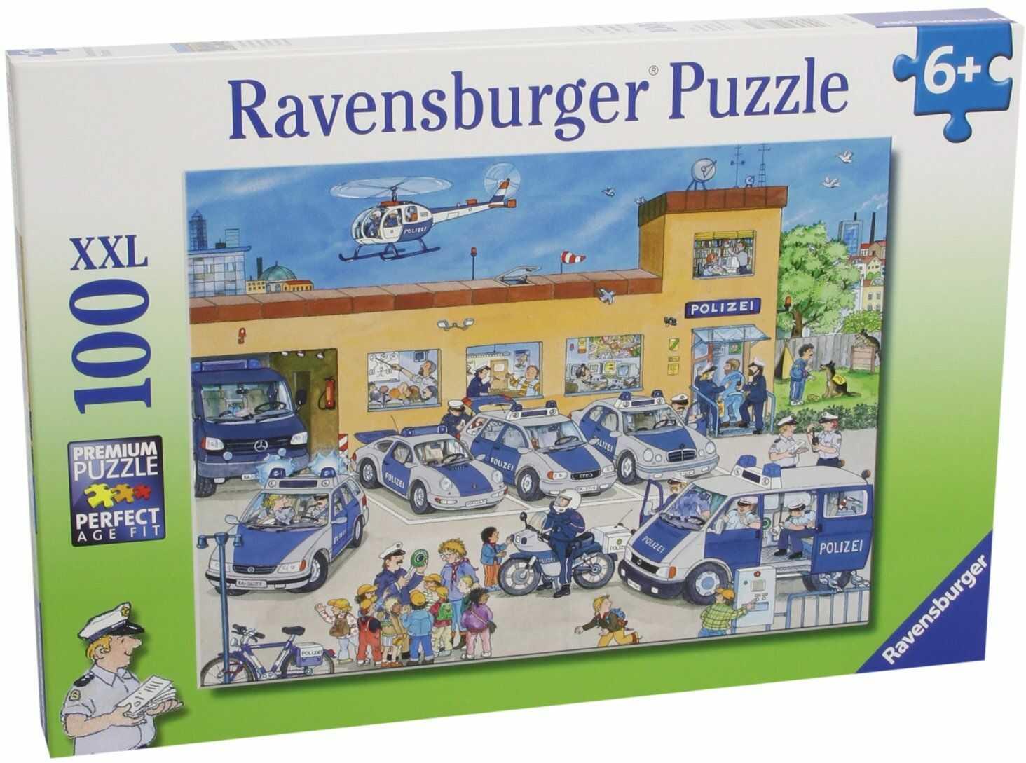 Ravensburger Puzzle dla dzieci 10867 - rehability policyjne - 100 części