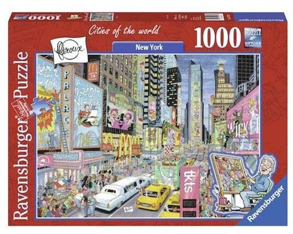 Puzzle Ravensburger 1000 - New York