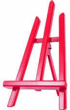 KIN sztaluga stołowa trójnóg mini czerwona