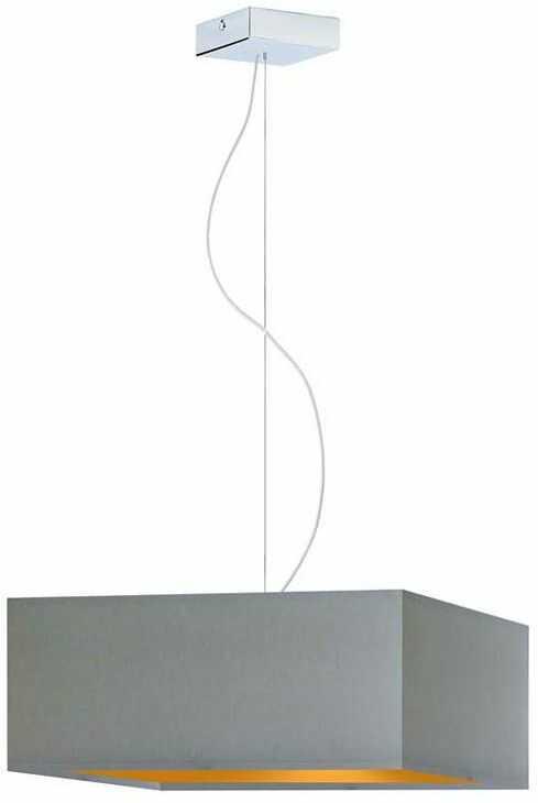 Regulowana lampa wisząca z chromowanym stelażem - EX361-Sangriv - 5 kolorów