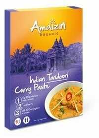 Pasta curry Indian tandoori BIO 80g - Amaizin