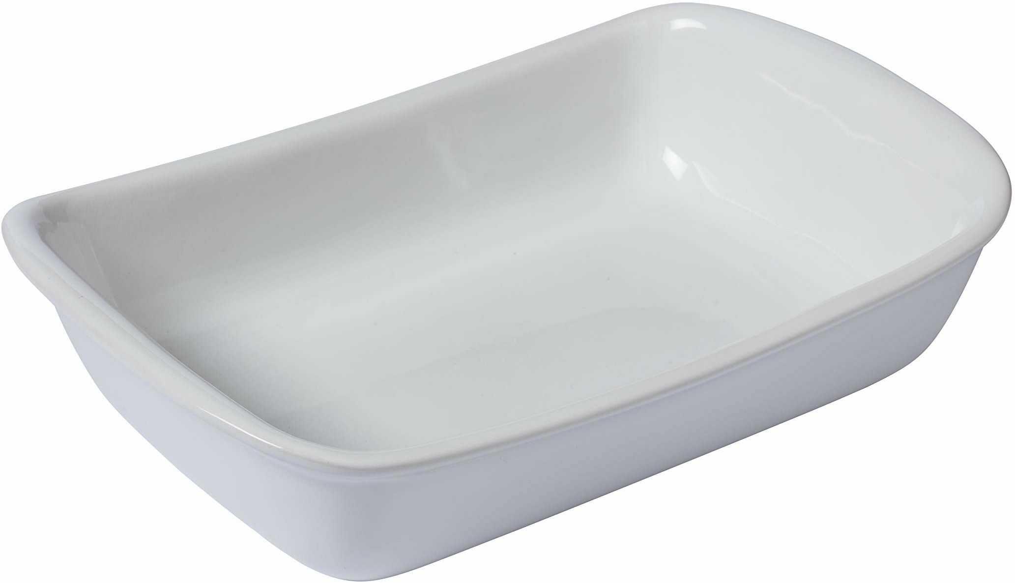 Pyrex Supreme rondel ceramiczny, biały
