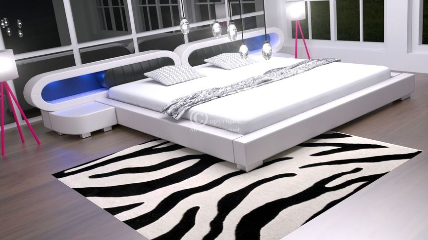 Łóżko do sypialni Harmony 4xLed
