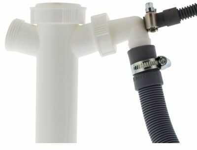 Połączenie syfonu SCANPART 1130710015 do węży odpływowych i suszarek