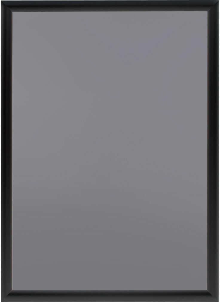 Ramka OWZ A2 plakatowa zatrzaskowa aluminiowa czarna