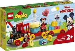 LEGO DUPLO - Urodzinowy pociąg myszek Miki i Minnie 10941