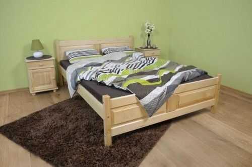 Łóżko sosnowe Filonek II 120x200