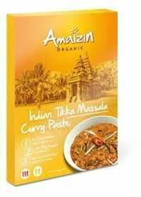 Pasta curry Indian tikka massala BIO 80g - Amaizin