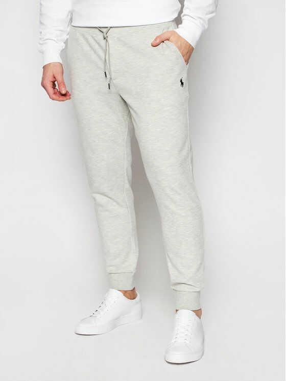Polo Ralph Lauren Spodnie dresowe Pnt 710652314013 Szary Regular Fit