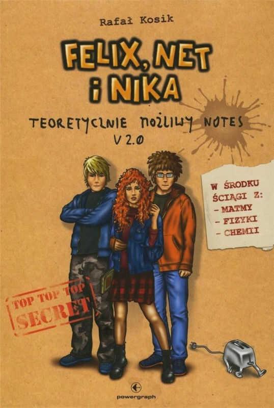 Felix, Net i Nika Teoretycznie Możliwy Notes V 2.0 ZAKŁADKA DO KSIĄŻEK GRATIS DO KAŻDEGO ZAMÓWIENIA