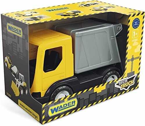 Tech truck śmieciarka w kartonie