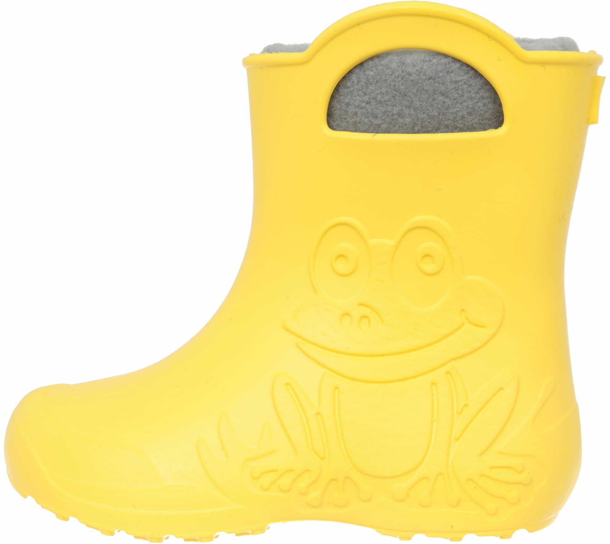 ZETPOL kalosze dziecięce EVA Frog Yellow wkład ocieplający