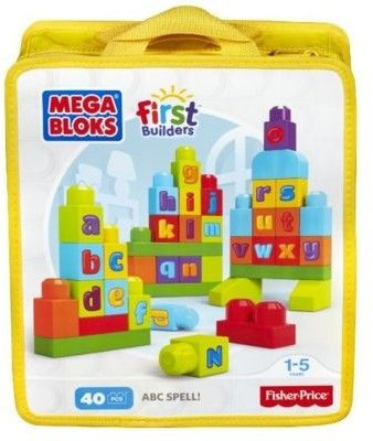 Mega Bloks - Ćwiczymy ABC! First Builders DKX58