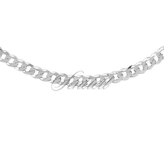 Łańcuszek męski - pancerka diamentowana płaska pr. 925 ø 0120