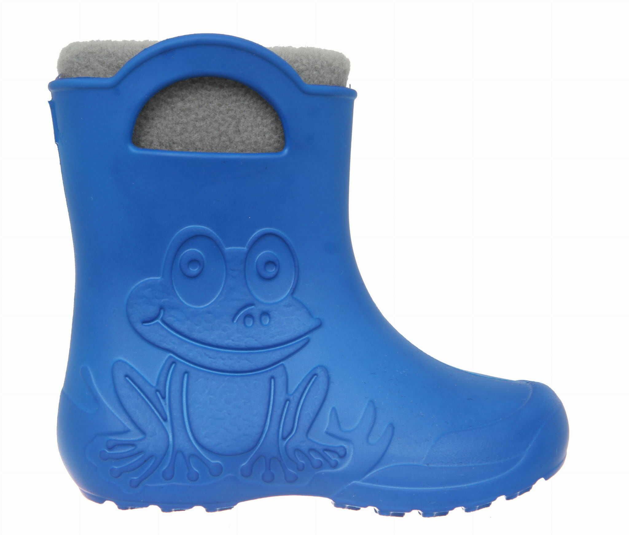 ZETPOL kalosze dziecięce EVA Frog Blue wkład ocieplający
