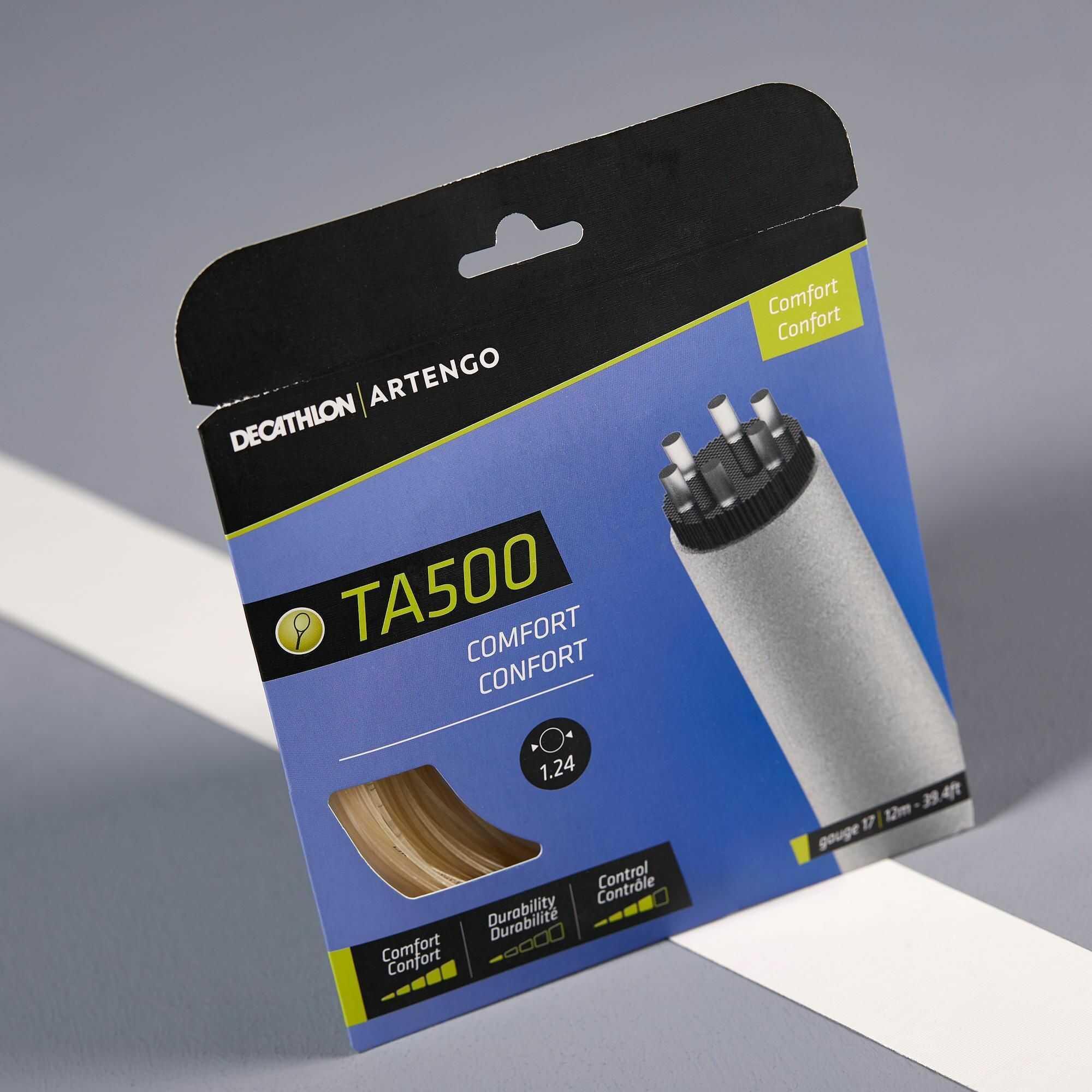 Naciąg tenisowy wielowłóknisty TA 500 CONFORT 1,24 mm