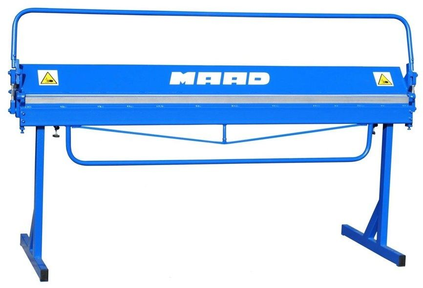 MAAD ZGL-2000/0.7 LEKKA ZAGINARKA GIĘTARKA KRAWĘDZIARKA DEKARSKA DO BLACHY WERSJA LEKKA - PRZENOŚNA MAAD ZGL-2000/0.7 mm
