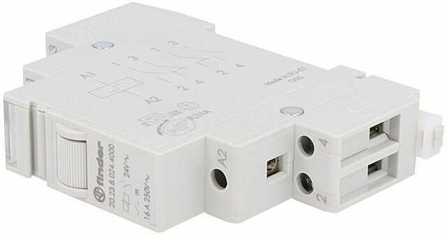 Przekaźnik instalacyjny FINDER bistabilny SPST-NO + SPST-NC 24VAC