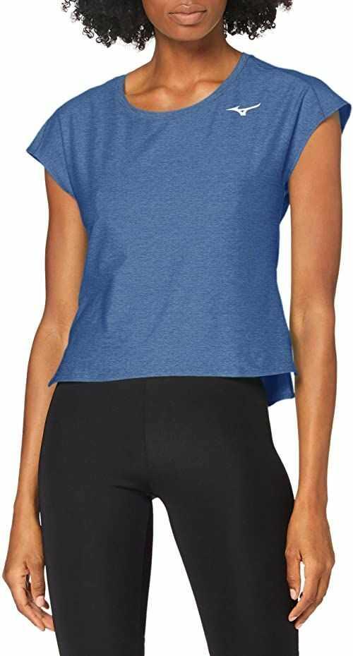 Mizuno Koszulka w stylu damskim, jasnoniebieski, mały
