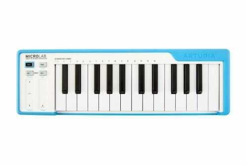 Arturia Microlab Blue klawiatura sterująca, kolor niebieski