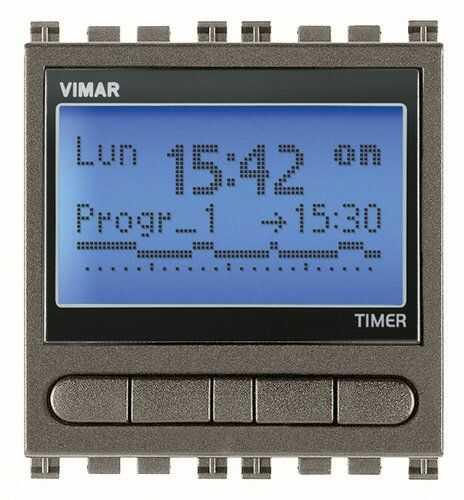 Programator czasowy 230V, metal