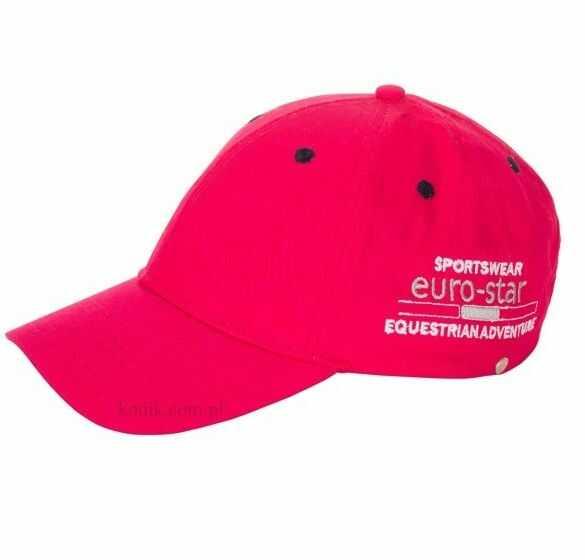 Czapka z daszkiem Euro-Star 161 - raspberry