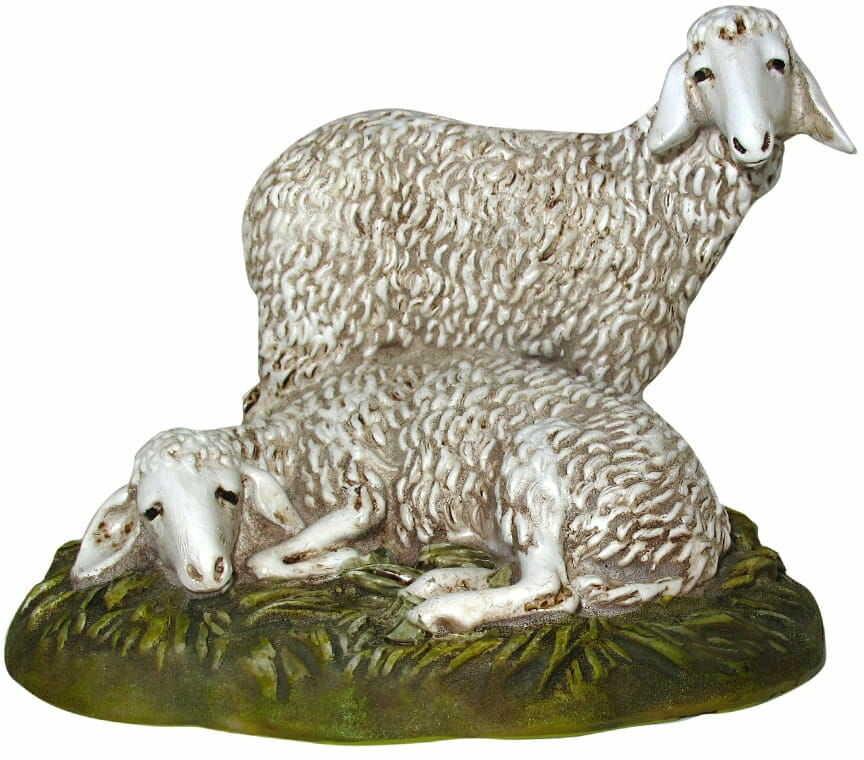 Figurka owieczek do szopki 8,5 cm