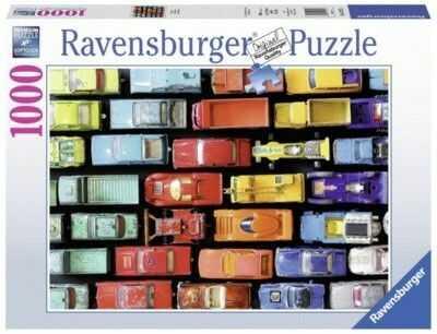 Puzzle Ravensburger 1000 - Kolorowe modele, Colorful models