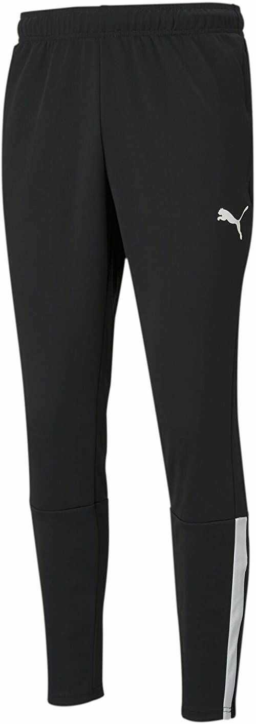 PUMA Męskie spodnie treningowe Teamliga spodnie z dzianiny Puma Black-Puma White L