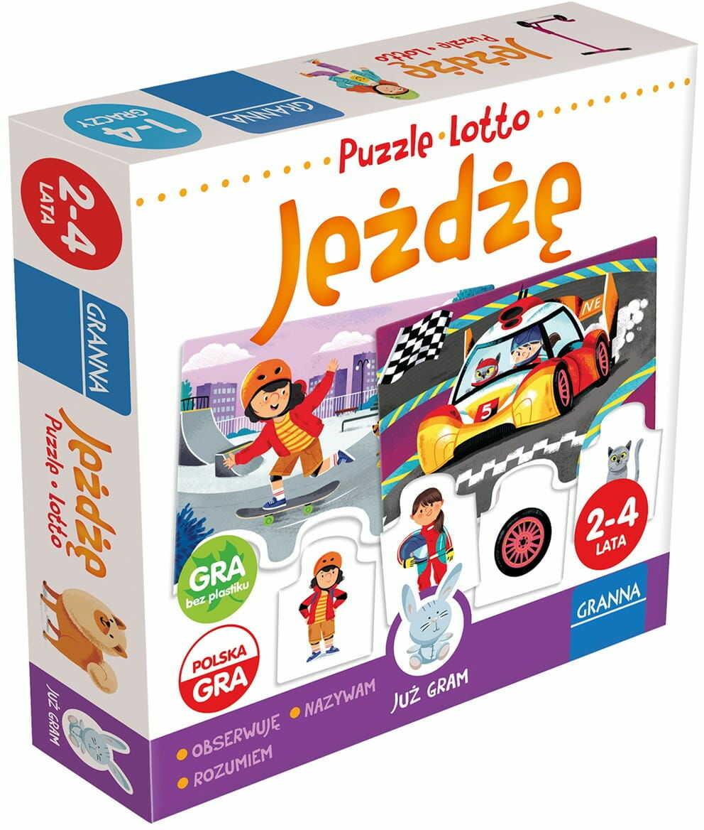 Jeżdżę puzzle lotto