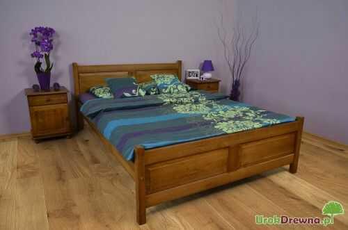 Łóżko drewniane bukowe Filonek II 180 x 200