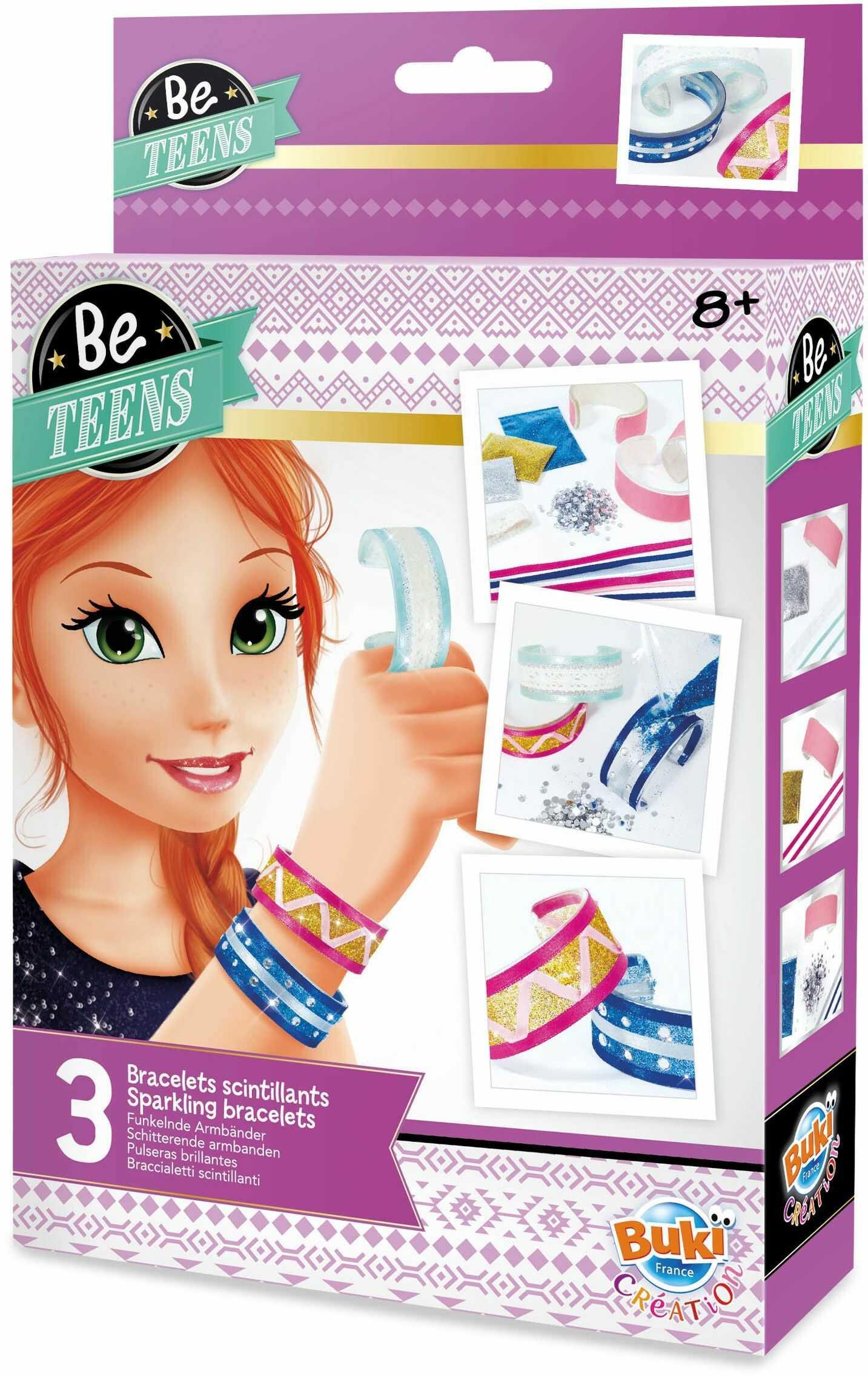 BUKI BE204 - Be Teens - błyszczące bransoletki