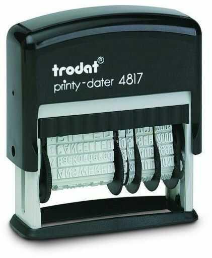 Datownik TRODAT 4817 3,8 mm - X06304