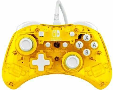 PDP Pad przewodowy Nintendo Switch Rock Candy Mini (żółty)