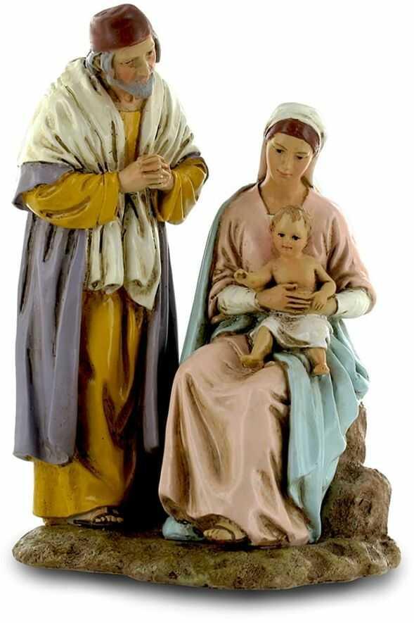 Figurka do szopki, Święta Rodzina,15 cm