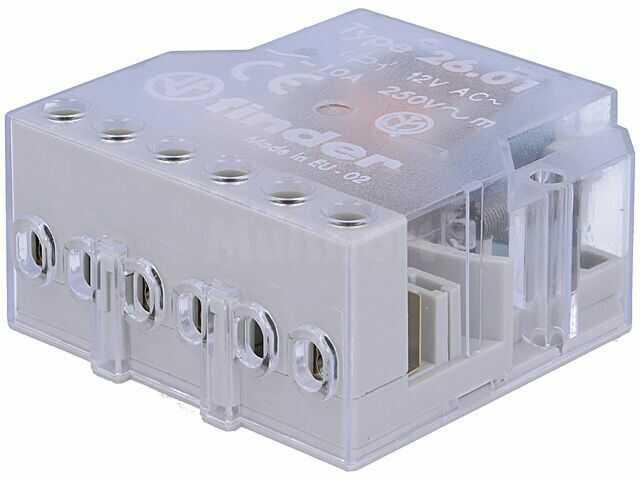 Przekaźnik instalacyjny FINDER bistabilny SPST-NO Ucewki:12VAC 10A